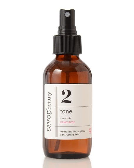 Savor Beauty Rose Toning Mist 02, 4 oz.