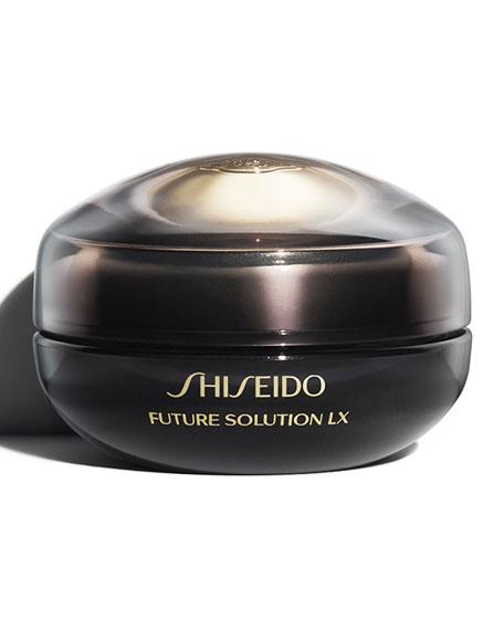 Shiseido Future Solution LX Eye and Lip Contour Regenerating Cream, 0.61 oz.