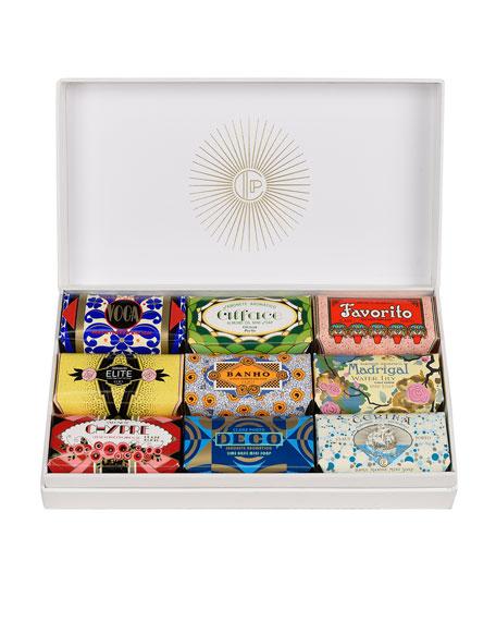 Deco Gift Box – 9 Mini Soaps w/ Sleeve