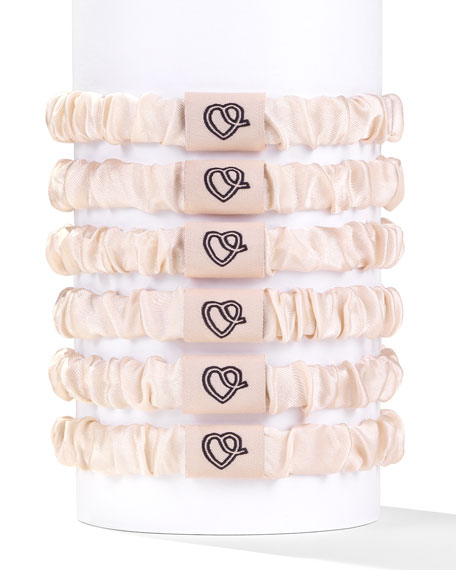 Silk Hair Ties – Coco
