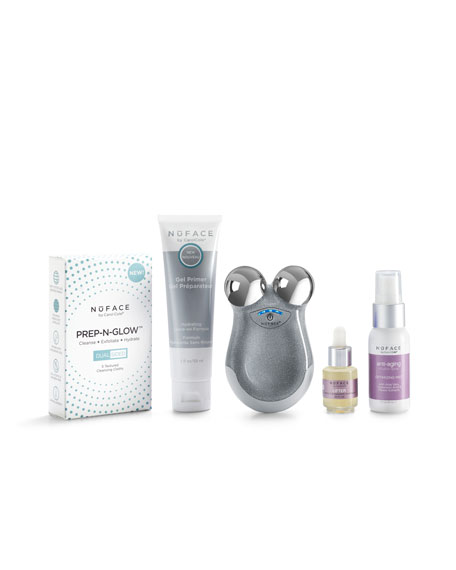 On the Glow Microcurrent & Hydration Travel Essentials