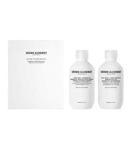 Anti-Frizz Haircare Twinset, 2 x 6.7 oz./ 200 mL