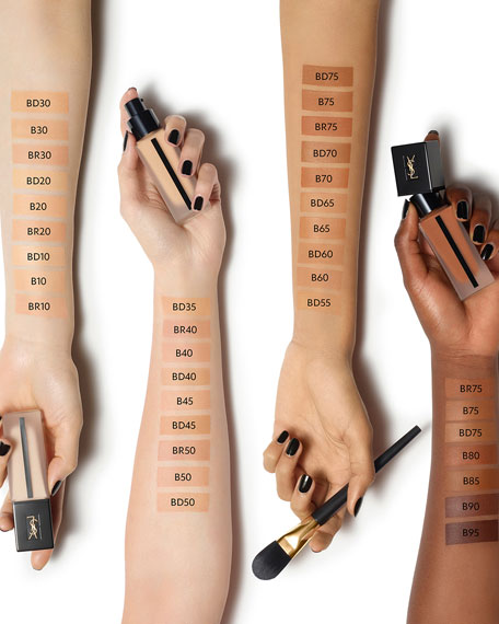 aa8a0e56dab58 Image 3 of 5: Yves Saint Laurent Beaute All Hours Full Coverage Matte  Foundation
