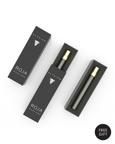 Yours with any $80 Raja Roja Parfums Purchase