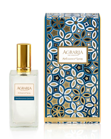 Agraria Mediterranean Jasmine Room Spray, 3.4 oz/ 100 mL