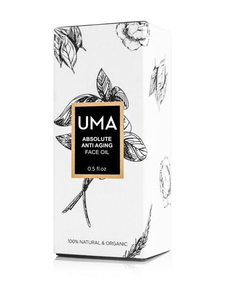 UMA Oils Anti Aging Face Oil, 1.0 oz./ 30 mL