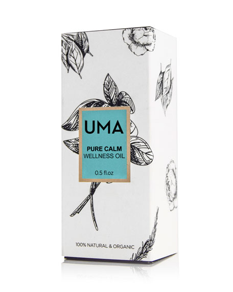 UMA Oils Pure Calm Wellness Oil, 1.0 oz./ 30 mL
