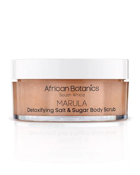 African Botanics 7.0 OZ. DETOXIFYING SALT & SUGAR BODY SCRUB