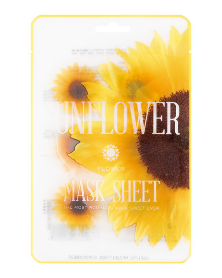 Sunflower Flower Mask