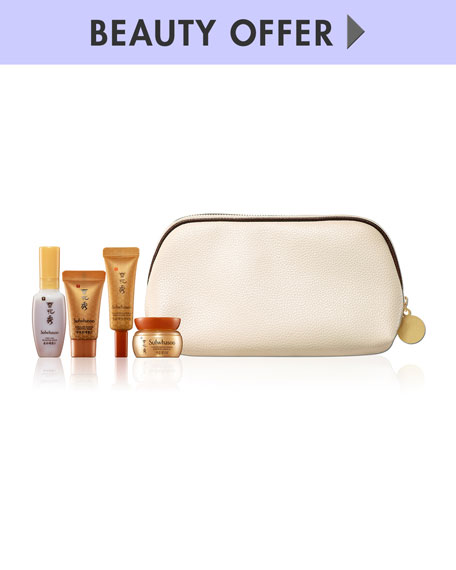 Yours with any $350 Sulwhasoo Purchase
