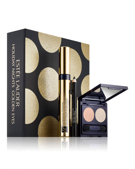 Estee Lauder Limited Edition Holiday Nights Golden Eyes