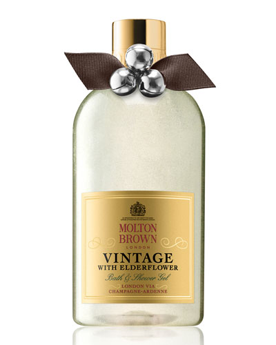 Vintage with Elderflower Bath & Shower Gel, 10 oz./ 300 mL