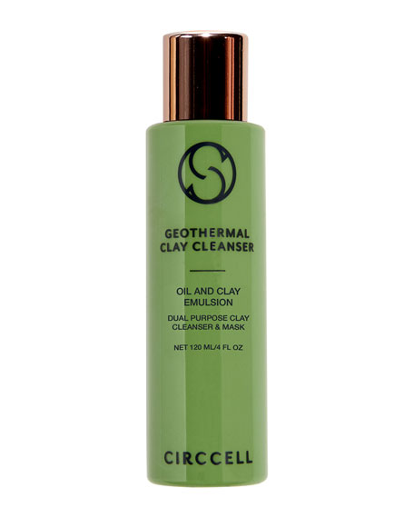 Circcell Skincare Geothermal Clay Cleanser, 4.0 oz./ 120
