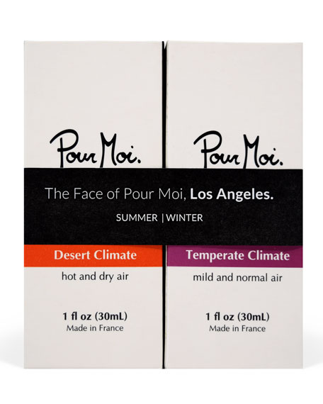 The Face of Pour Moi, Los Angeles, 2 x 1.0 oz./ 30 mL