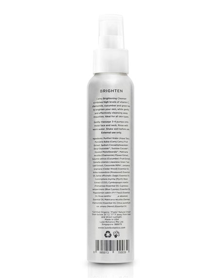 Camu Brightening Cleanser, 4.0 oz./ 120 mL