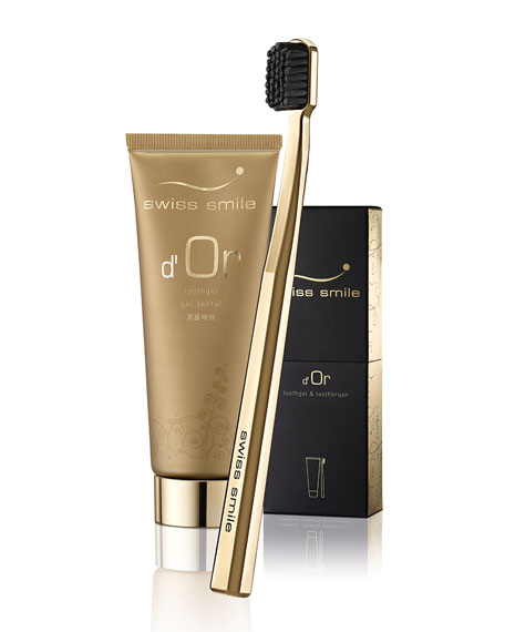 Swiss Smile D'Or Toothgel & Toothbrush