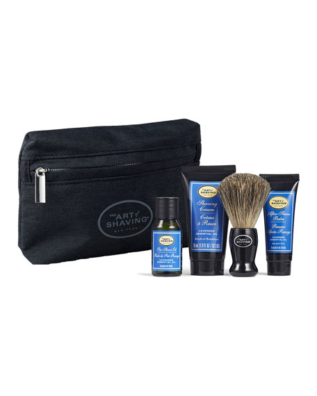 Image 1 of 1: The Art of Shaving 4 Piece Mini Kit