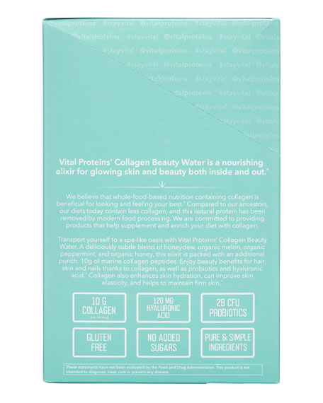 Collagen Beauty Water - Melon Mint (Stick Packs)