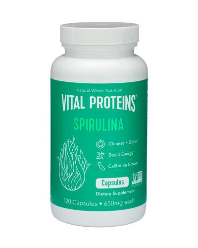 Spirulina Capsules, 120 capsules
