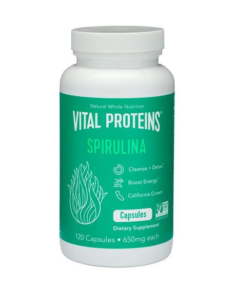 Vital Proteins Spirulina Capsules, 120 capsules