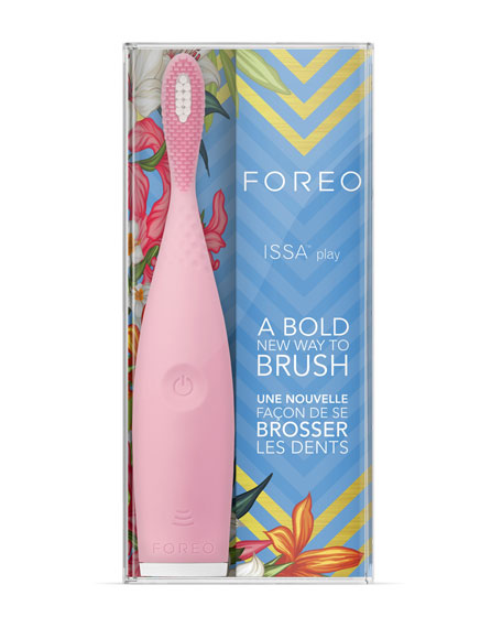 Foreo ISSA Play Toothbrush in Pearl Pink
