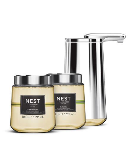 Foam Cartridge Sensor Pump Gift Set, Featuring NEST Fragrances