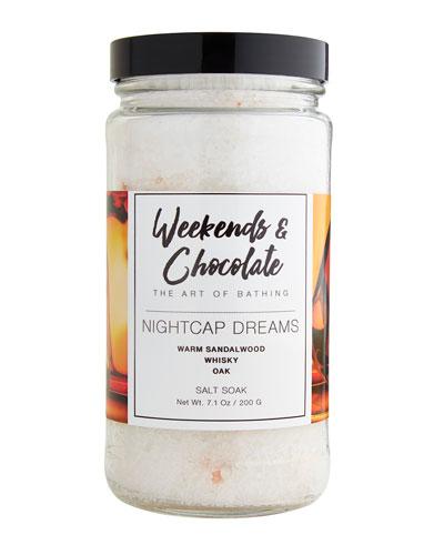 Bath Salts - Nightcap Dreams  7 oz./ 200 g