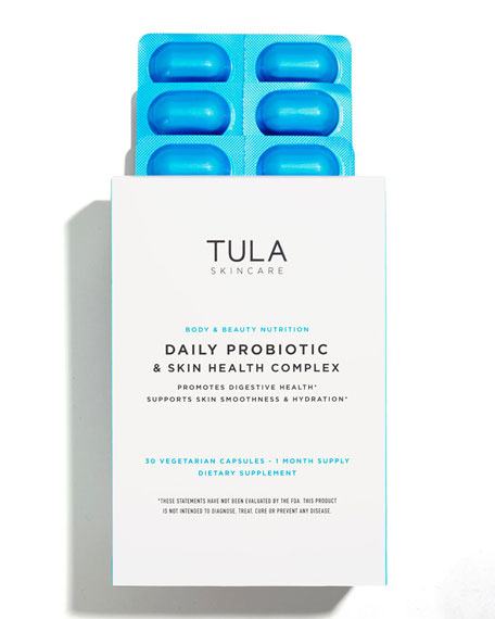 TULA Daily Probiotic & Skin Health Complex, 30