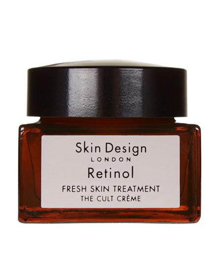 Skin Design London Retinol – Fresh Skin Treatment, 1.0 oz./ 30 mL