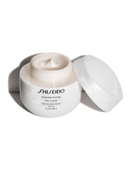 Shiseido Essential Energy Day Cream, Broad Spectrum SPF 20, 1.7 oz.