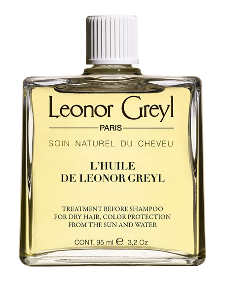 Leonor Greyl HUILE DE LEONOR GREYL (COLOR PROTECTING PRE-SHAMPOO TREATMENT FOR DRY HAIR), 3.2 OZ./ 95 ML