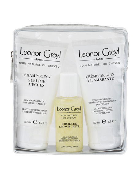 Leonor Greyl Luxury Travel Kit for Colored/Highlighted Hair