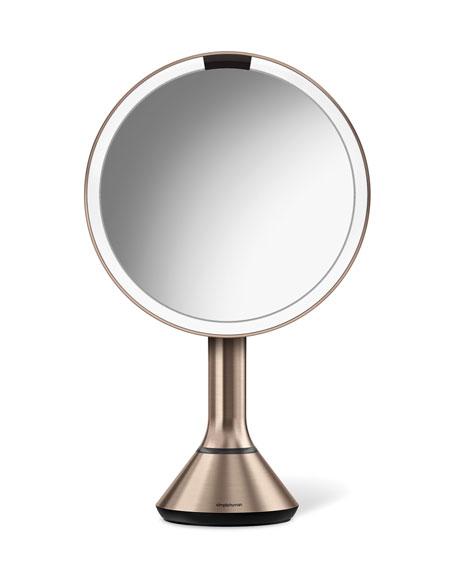 8&#148 Sensor Makeup Mirror with Brightness Control, Rose-Tone