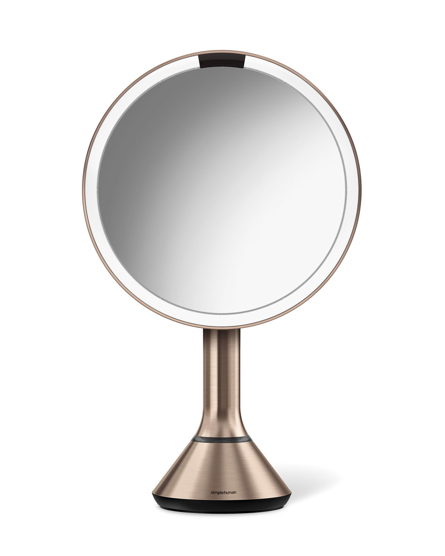 Simplehuman 8 Sensor Makeup Mirror With Brightness Control Rose Tone Neiman Marcus