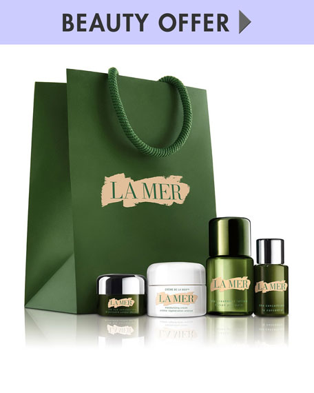 Yours with any $300 La Mer Purchase—Online only*