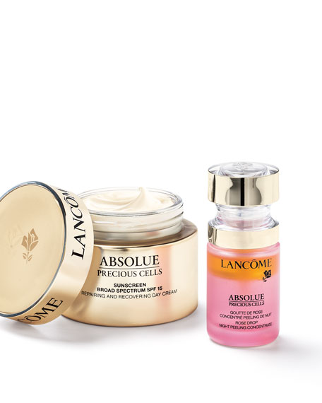 Image 2 of 3: Lancome 0.5 oz. Absolue Precious Cells Rose Drop Night Skin Peel Concentrate