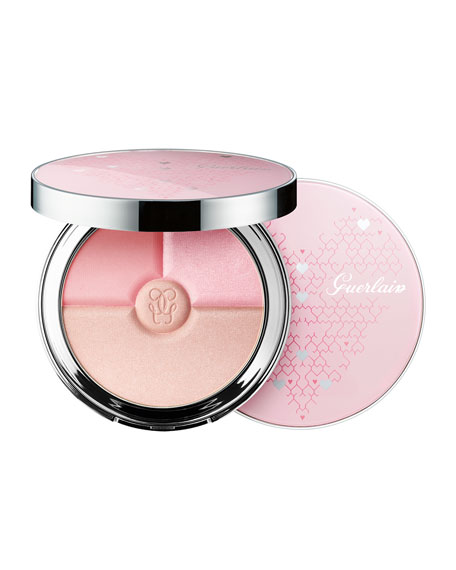 Guerlain M??t??orites Heart Shape Collector Pressed Powder