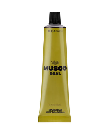 Musgo Real Classic Scent Shaving Cream, 3.4 oz./ 100 mL