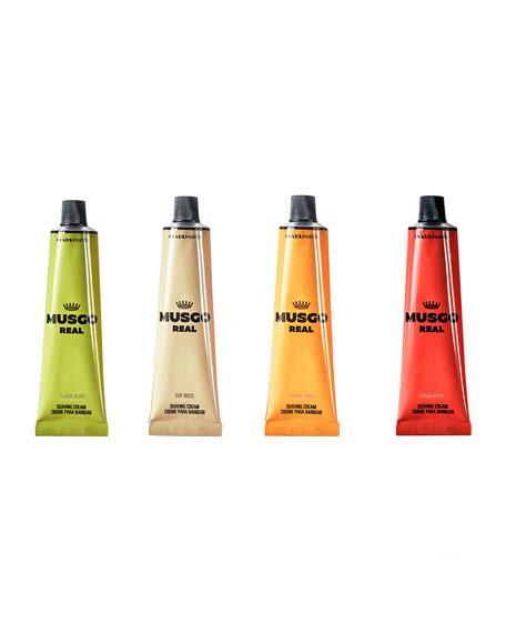 Musgo Real Orange Amber Shaving Cream, 3.4 oz./ 100 mL