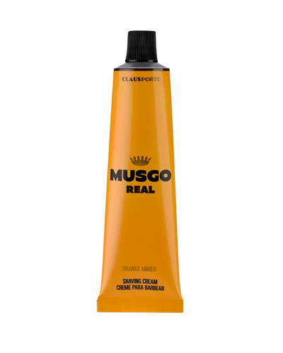 Orange Amber Shaving Cream  3.4 oz./ 100 mL