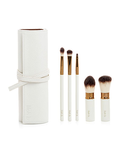 Limited Edition Let's Face It Brush Roll (A $190 Value)