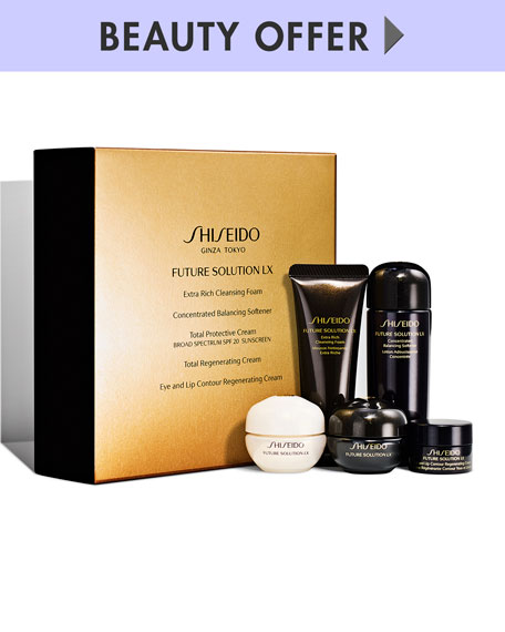 Yours with any $150 Shiseido Purchase
