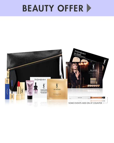 Yours with any $200 YSL Beaute Purchase