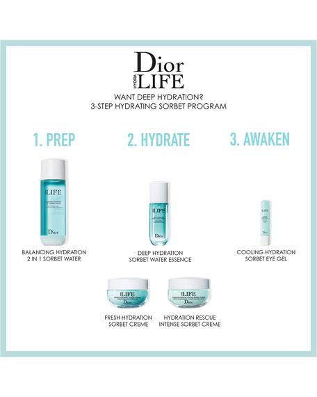 Dior LIFE Sorbet Water, 6.0 oz.