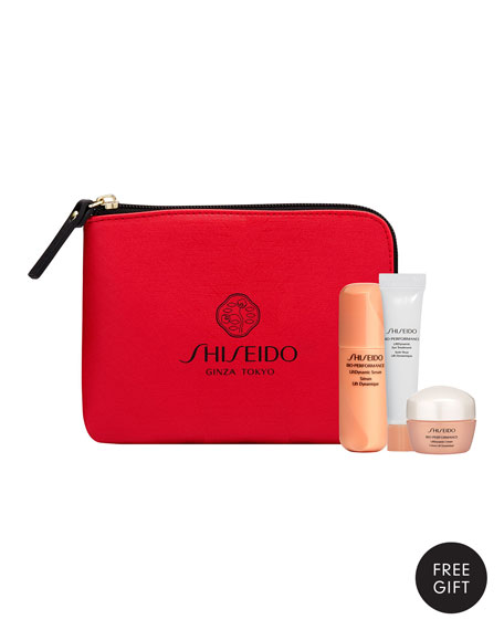 Yours with any $100 Shiseido Purchase