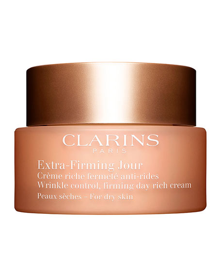 Clarins Extra-Firming Wrinkle Control Firming Day Cream – Dry Skin