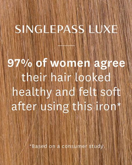 SinglePass Luxe Straightening & Styling Iron