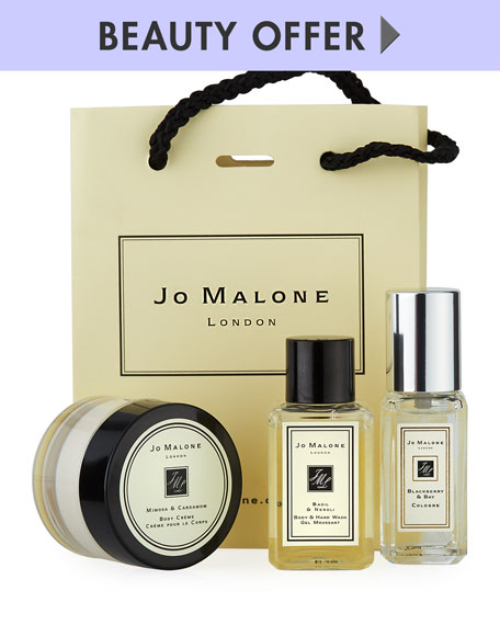 Yours with any $130 Jo Malone London Purchase