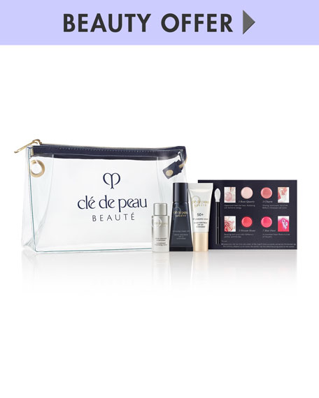 Yours with any $350 Cle de Peau Beaute Purchase
