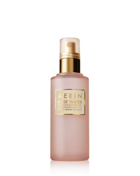 Aerin ROSE WATER REFRESHING & SETTING MIST, 3.4 OZ./ 100 ML